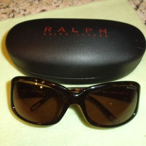 Ralph Lauren Sunglasses with Hard Case